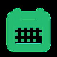 ícone calendário