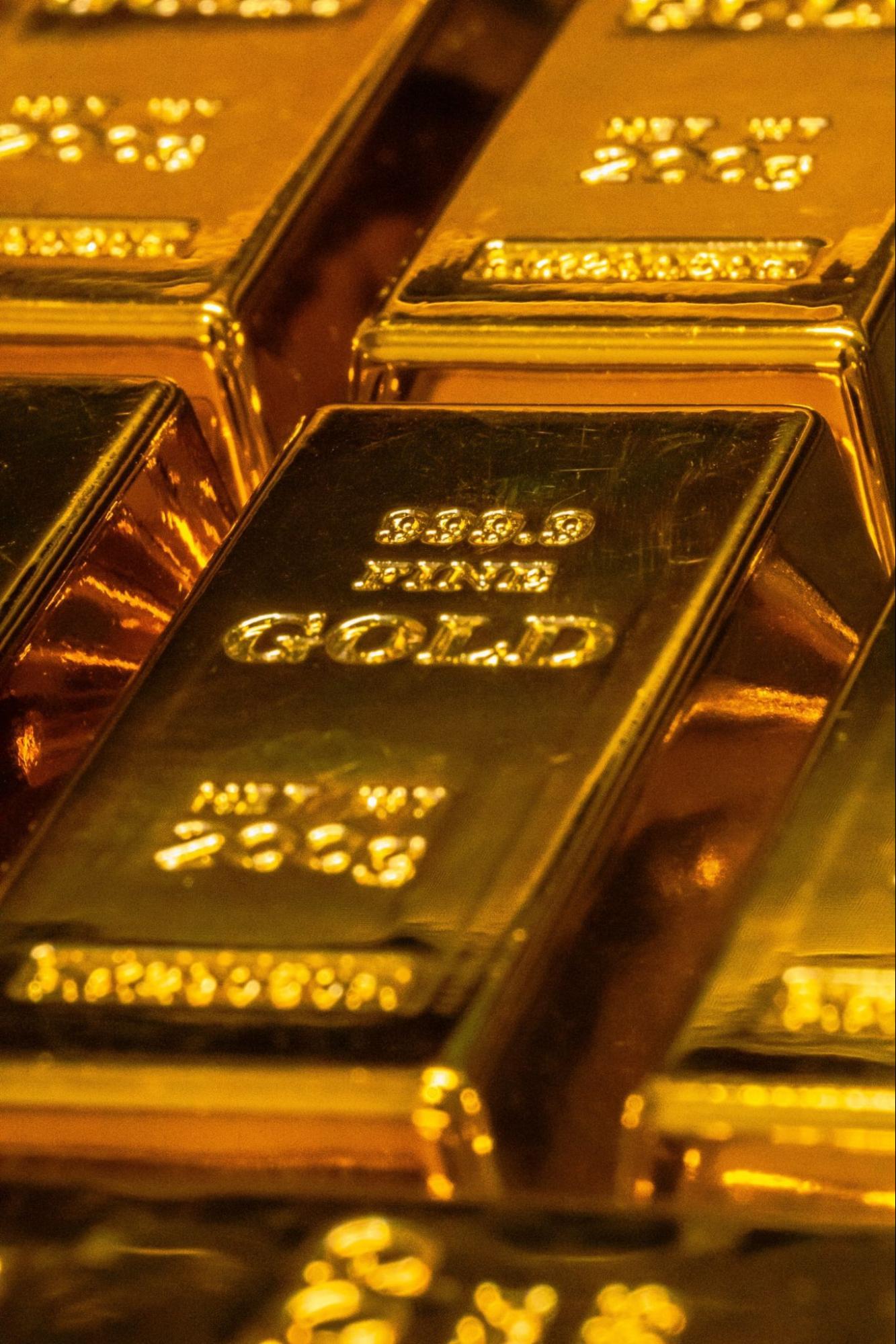 imagem barra de ouro - investimento em ouro na bolsa de valores - ETF GOLD11